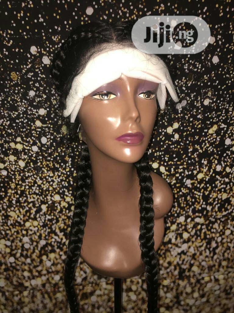 Gluesless Frontal Wigs, Fulani, 2 Part, Brazil Wig | Hair Beauty for sale in Lekki, Lagos State, Nigeria