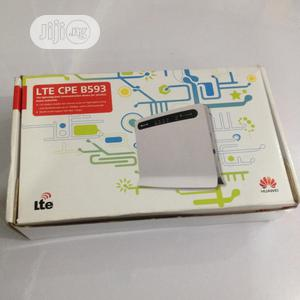 Huawei B593 4G LTE Cpe Router Wifi | Networking Products for sale in Lagos State, Yaba