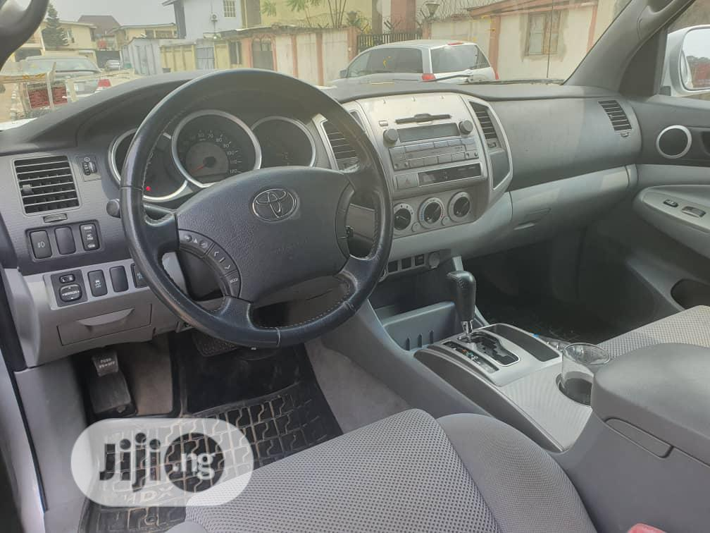 Toyota Tacoma 2010 Silver   Cars for sale in Ikoyi, Lagos State, Nigeria