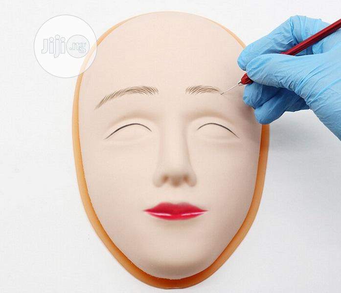 5D Facial Silicone Practice Tattoo Skin Mannequin Doll | Tools & Accessories for sale in Surulere, Lagos State, Nigeria