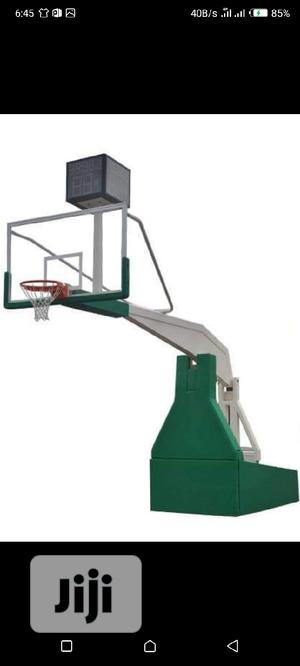 Standard Olympic Basketball Stand for Professional   Sports Equipment for sale in Lagos State, Lekki