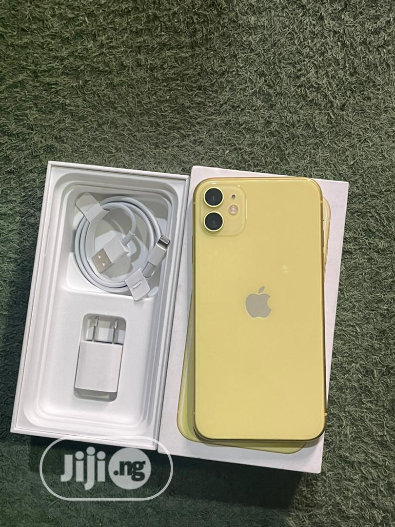 Apple iPhone 11 64 GB Yellow   Mobile Phones for sale in Port-Harcourt, Rivers State, Nigeria