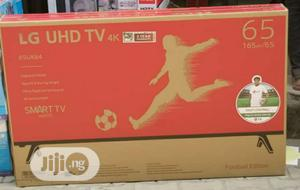 LG 65 Inch 4K Uhd Smart TV   TV & DVD Equipment for sale in Lagos State, Oshodi