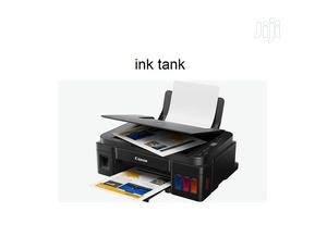 Canon PIXMA G2411 All-In-One Ink Tank - Print, Scan Copy | Printers & Scanners for sale in Lagos State, Ikeja