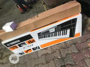 Yamaha Keyboard PSR F51 With Adaptor And Stand   Musical Instruments & Gear for sale in Lagos State, Ojo