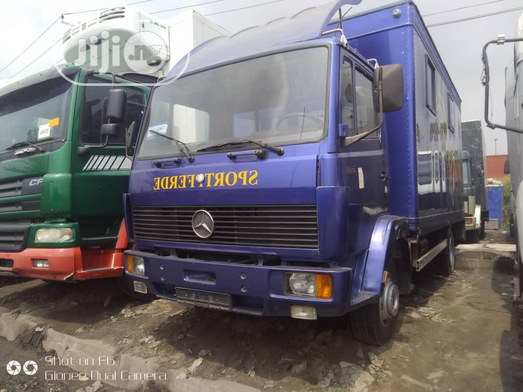Mercedes-Benz Truck Blue