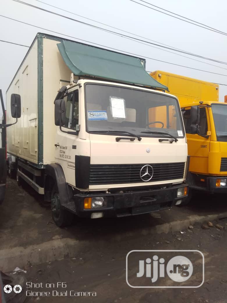 Mercedes Benz Truck 814 White   Trucks & Trailers for sale in Apapa, Lagos State, Nigeria