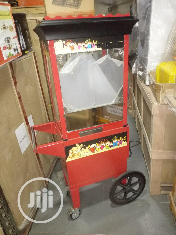 Archive: Standing Pop Corn Machine.