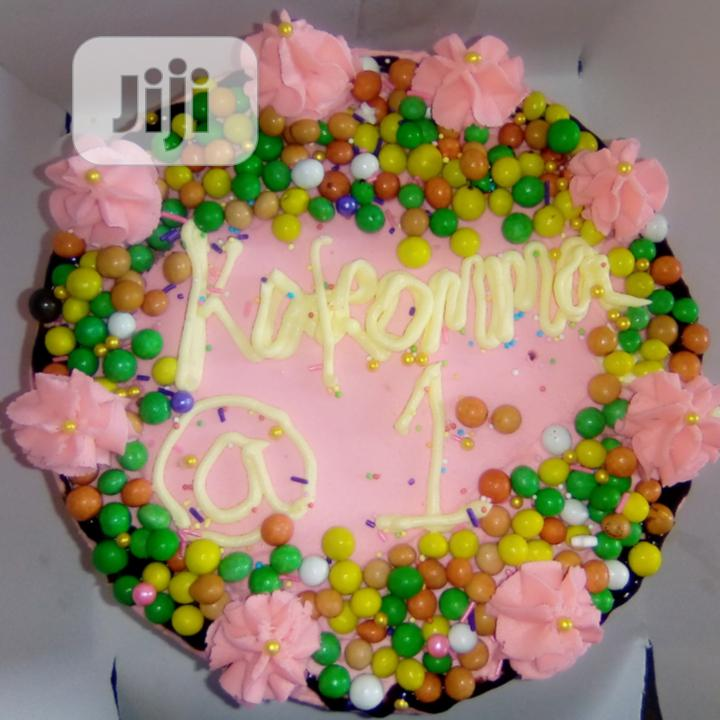 Nutritious Candies 3 in 1 Drip Birthday Cake