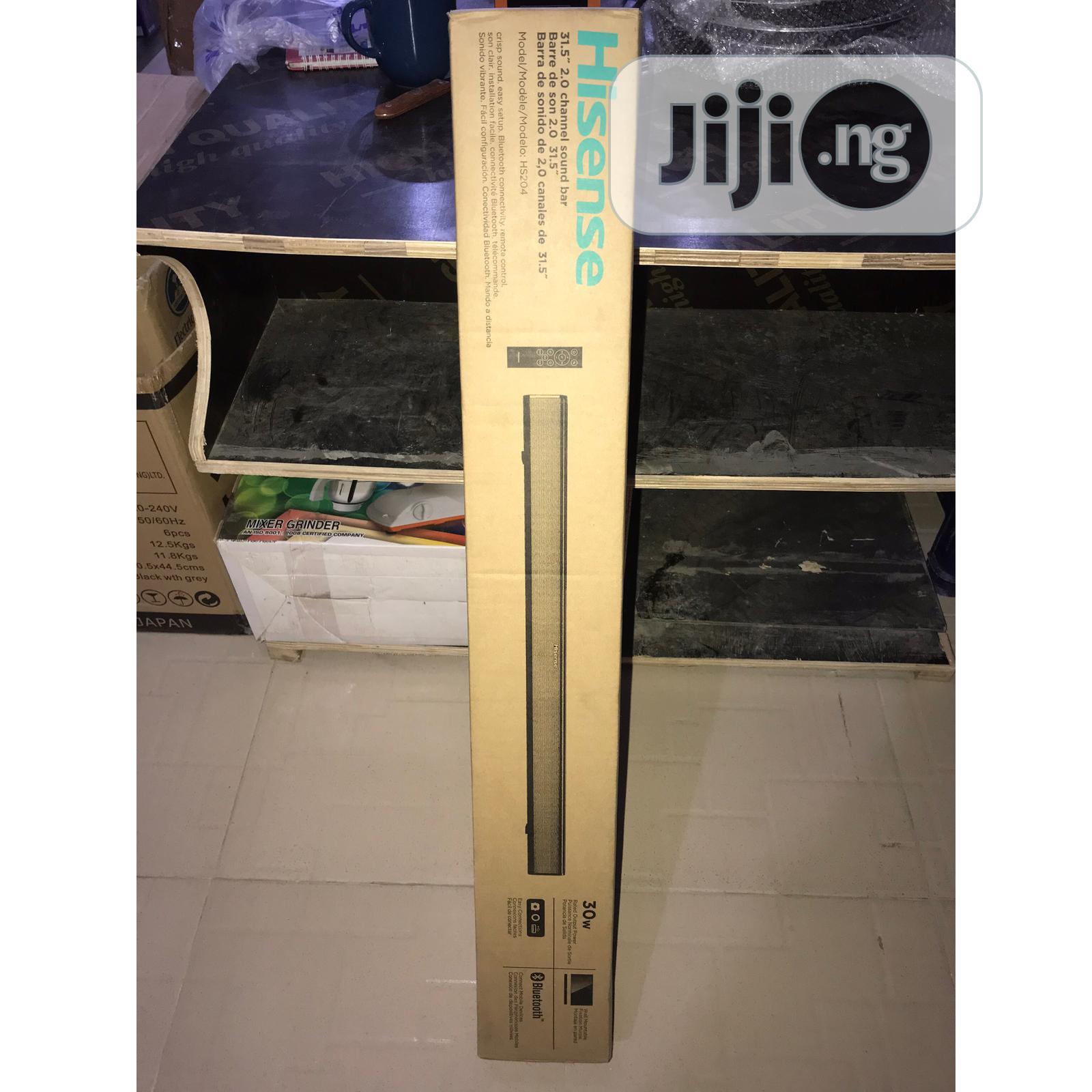 HISENSE 30w Bluetooth Sound Bar