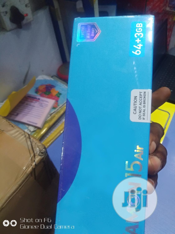 New Tecno Camon 15 Air 64 GB Black | Mobile Phones for sale in Ikeja, Lagos State, Nigeria