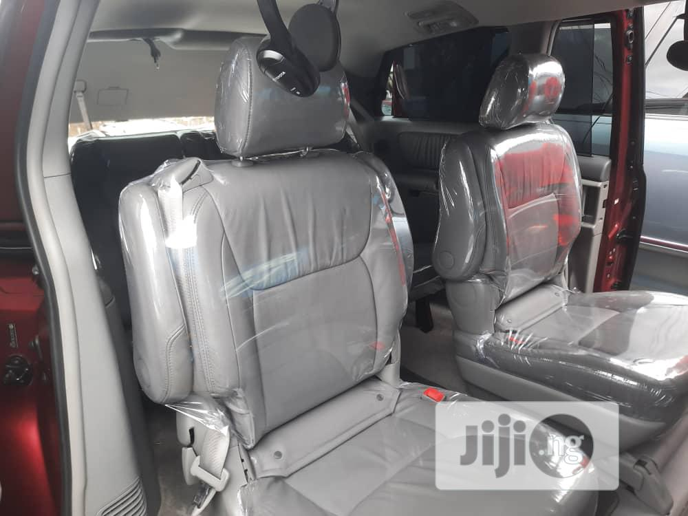 Toyota Sienna 2007 Red | Cars for sale in Apapa, Lagos State, Nigeria