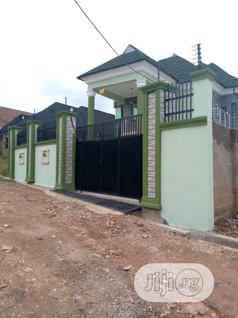 A Four Bedroom Duplex+ A Room And Parlour Bq For Sale