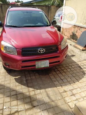 Toyota RAV4 2007 V6 4x4 Red   Cars for sale in Lagos State, Ojodu