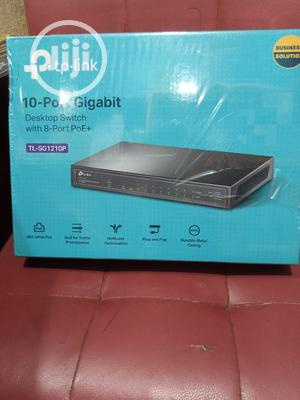 10port Gigabit Desktop Switch With 8-Port Poe+ | Networking Products for sale in Lagos State, Ikeja