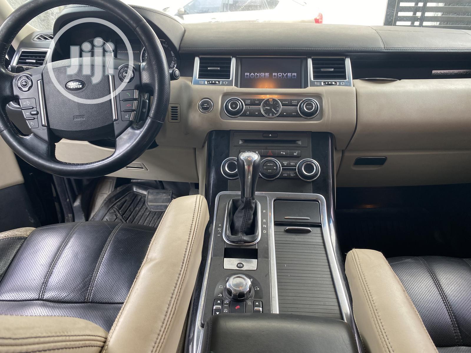 Land Rover Range Rover Sport 2012 Black | Cars for sale in Lekki, Lagos State, Nigeria
