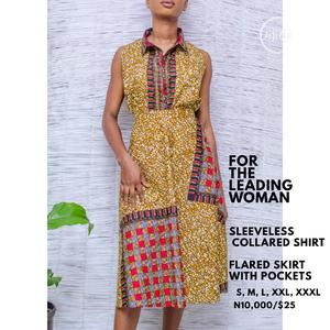 Sleeveless Dress With Flared Skirt | Clothing for sale in Lagos State, Gbagada