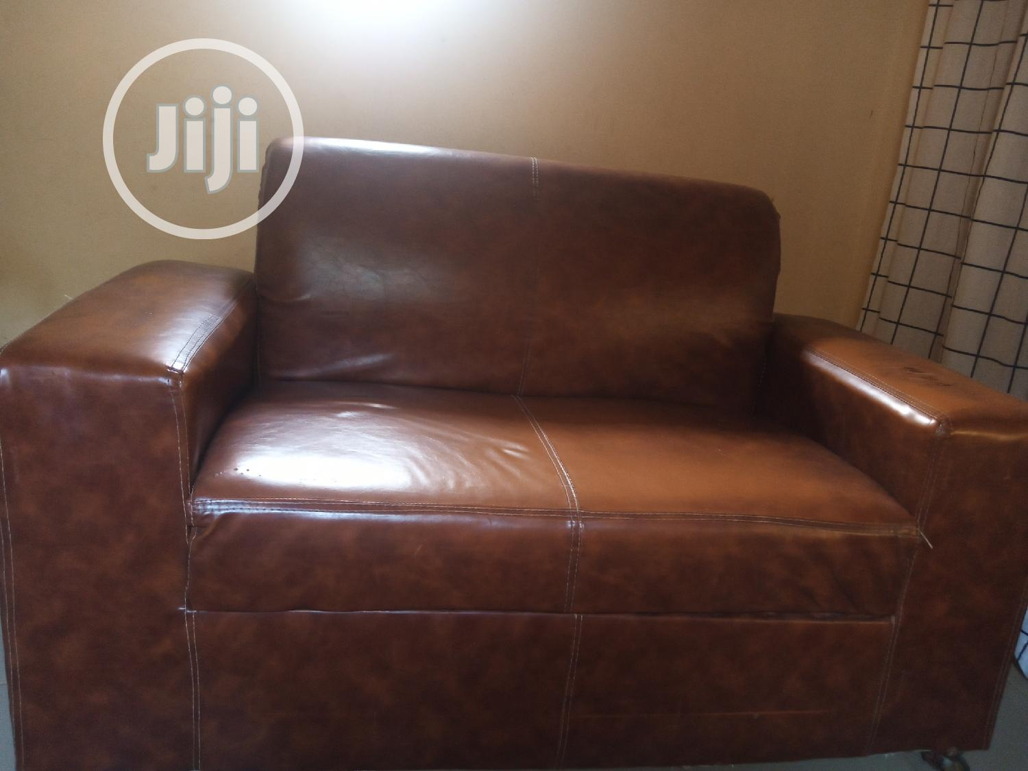 Used 4 Seater Leather Couch
