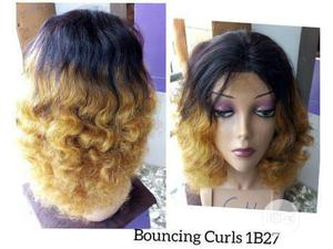Quality Short Human Hair With Closure | Hair Beauty for sale in Lagos State, Ikeja