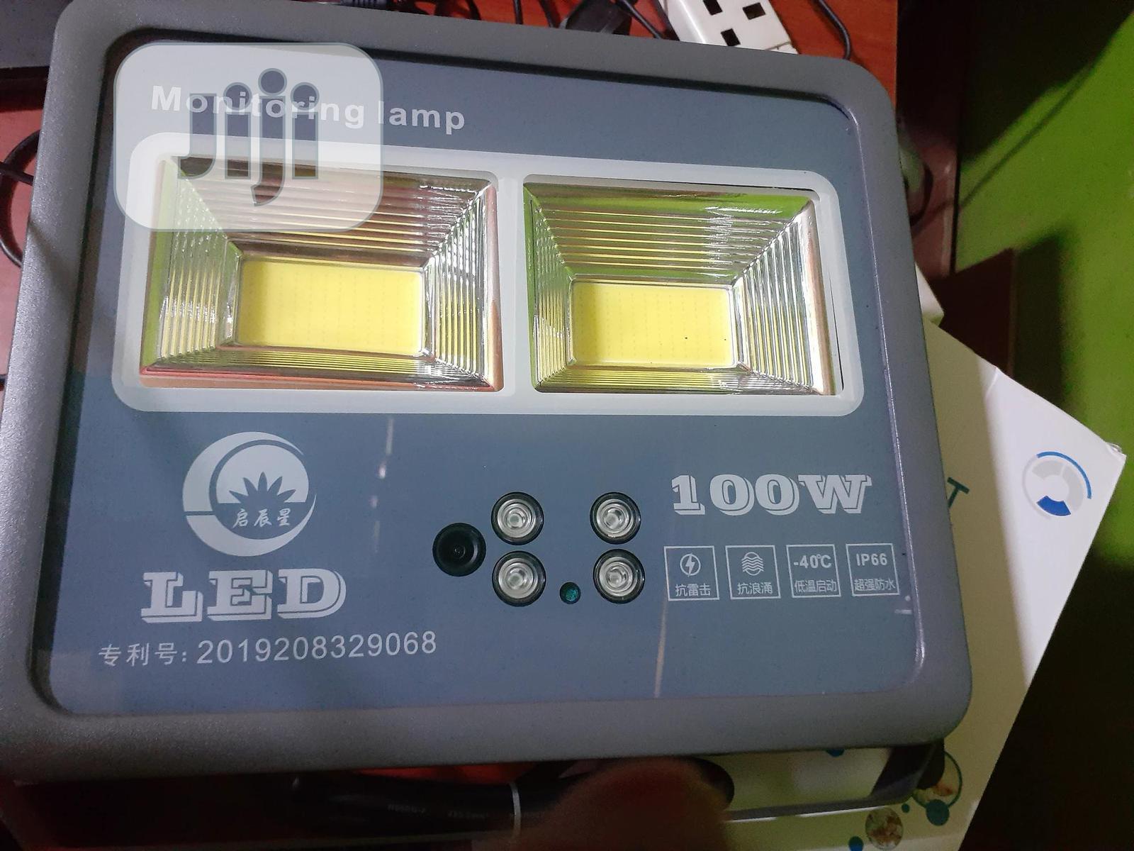 Wifi Wireless Led Lamp Monitoring Camera[64GB Inbuilt]