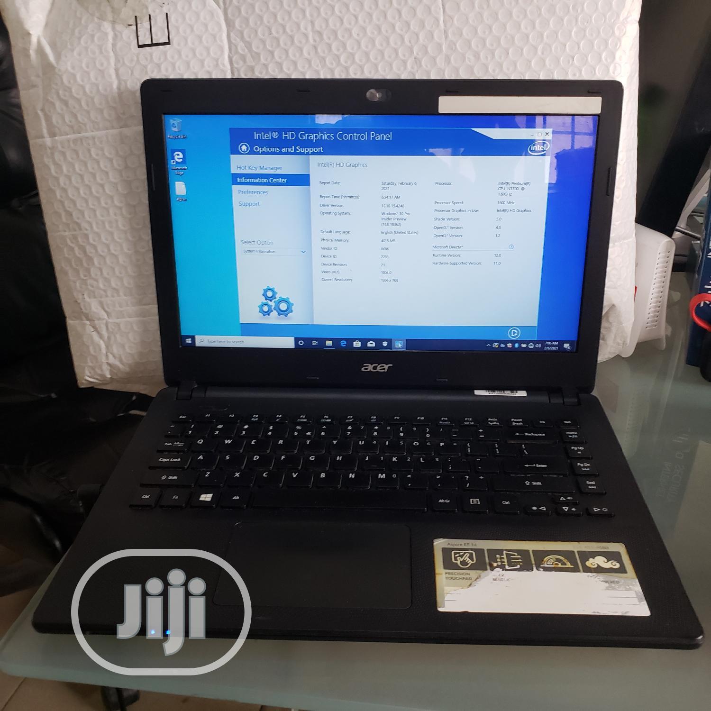 Archive: Laptop Acer Aspire 1 4GB Intel Pentium HDD 500GB