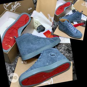 Christian Louboutin Velvet Ankle Sneakers   Shoes for sale in Lagos State, Lagos Island (Eko)