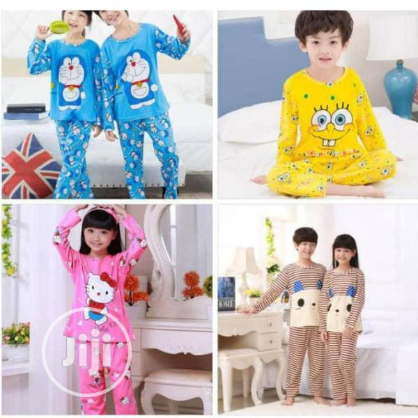 Kid's Cartoon Character Unisex Pyjamas | Children's Clothing for sale in Abule Egba, Lagos State, Nigeria