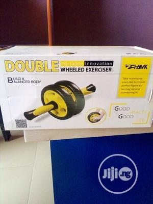 Strong Double Wheel Exerciser | Sports Equipment for sale in Lagos State, Abule Egba
