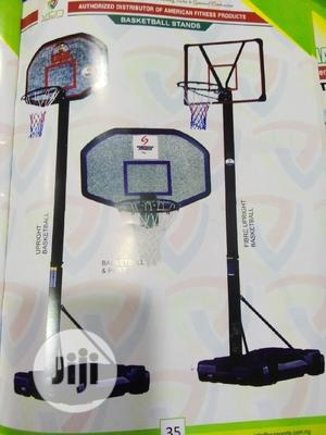 Standard Basketball Stand With Strong Base   Sports Equipment for sale in Lagos State, Amuwo-Odofin