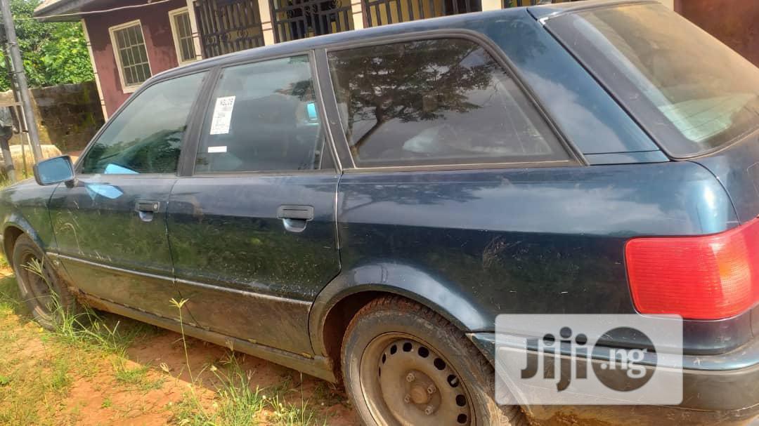 Archive: Audi 80 1994 Green