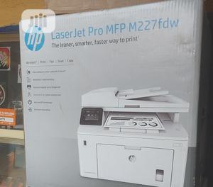 HP Laserjet Pro MFP M227fdw | Printers & Scanners for sale in Lagos State, Ikeja