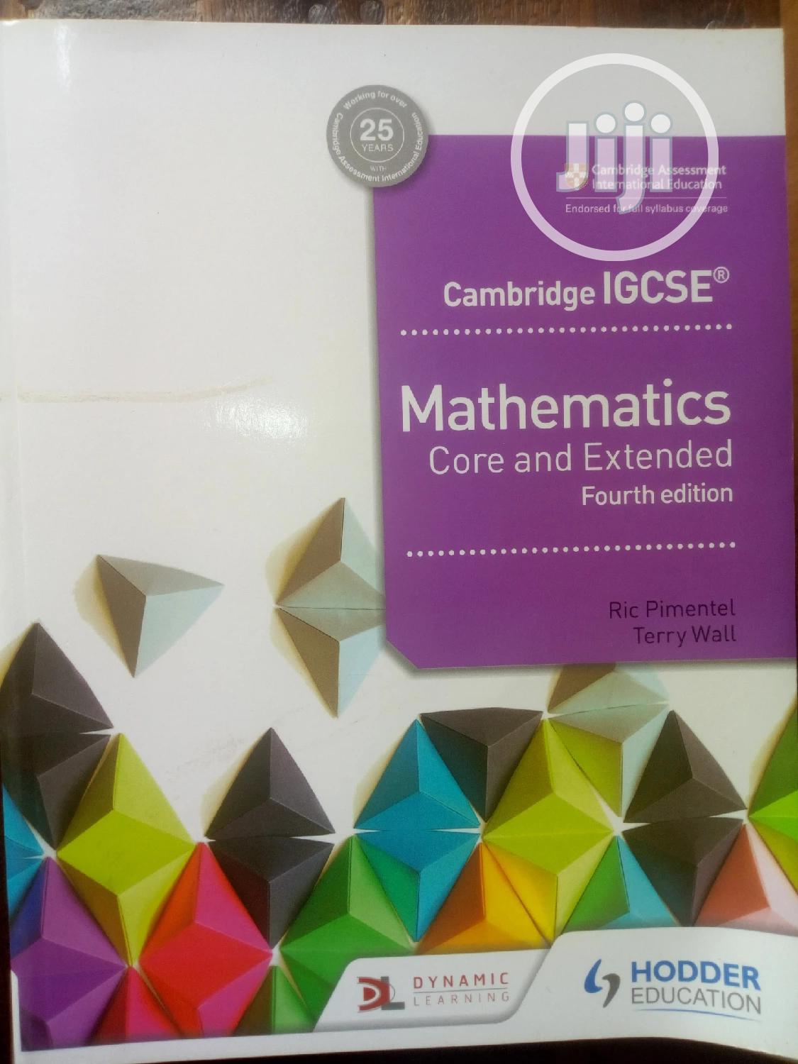 Archive: Cambridge IGSCE Mathematics Core and Extended