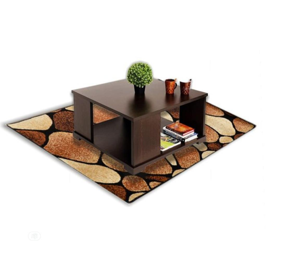 Archive: Center Table With Center Rug