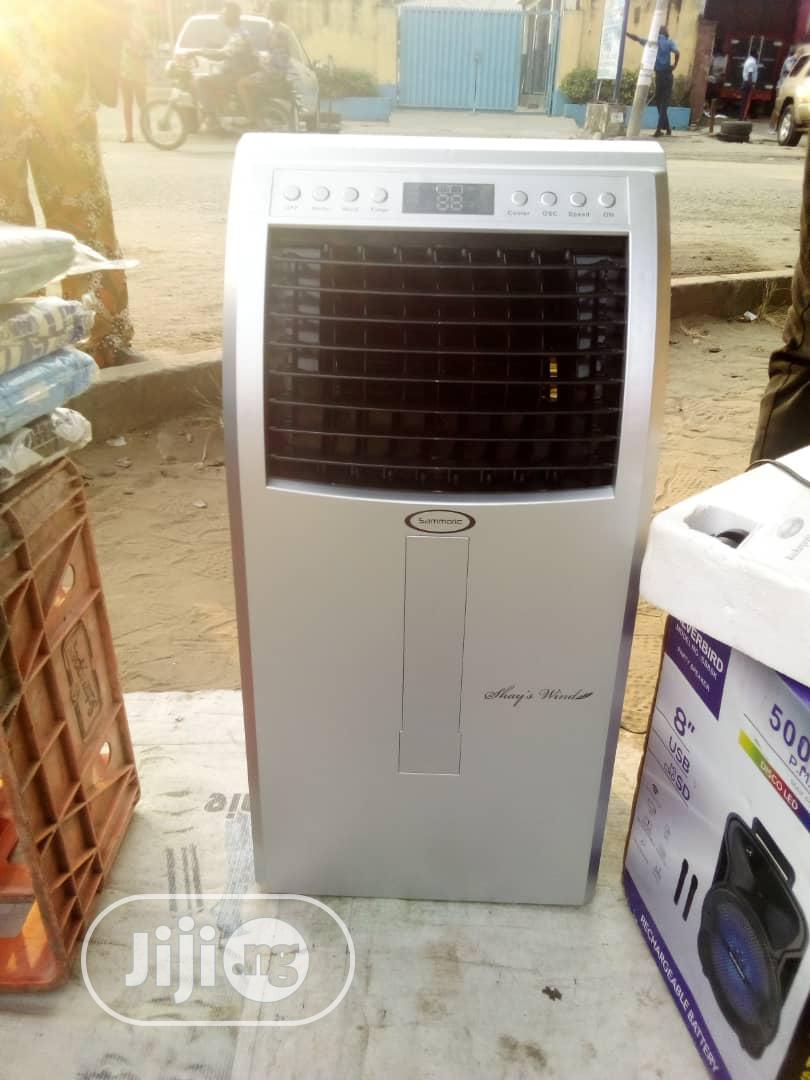 Air Cooler Rechargeable