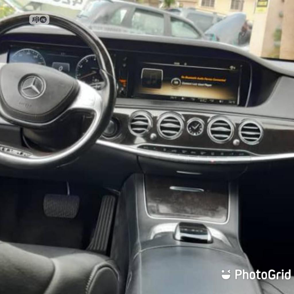 Mercedes-Benz S Class 2016 4dr Sedan Black | Cars for sale in Victoria Island, Lagos State, Nigeria