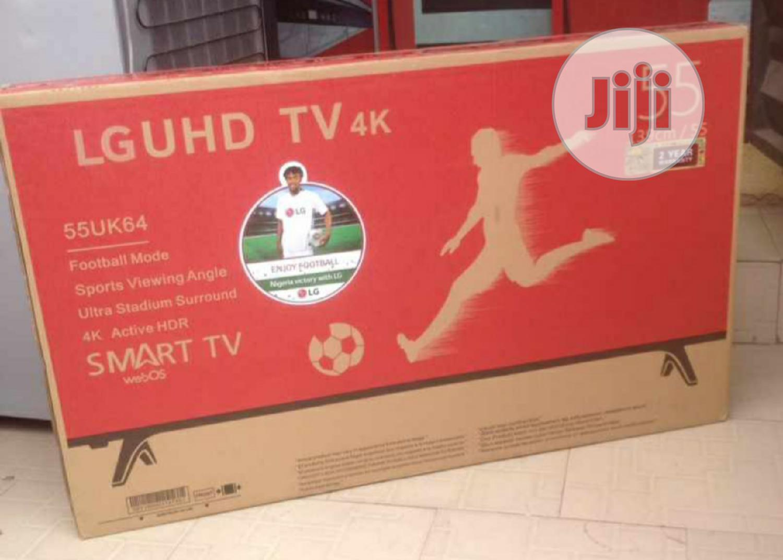 LG Uhd 55 Inch Uk64 Series 4K Display Smart LED TV