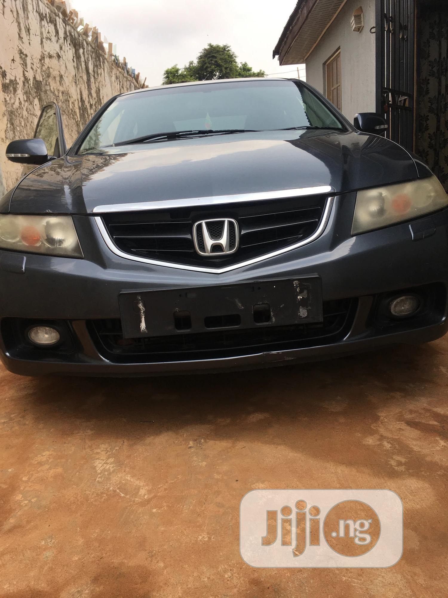 Honda Accord 2004 Automatic Gray | Cars for sale in Ado-Odo/Ota, Ogun State, Nigeria