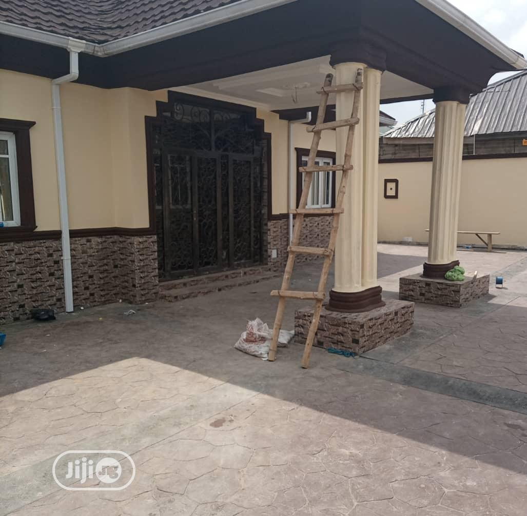 Archive: Standard Three Bedrm Bungalow for Sale at AIT Road Alagbado.