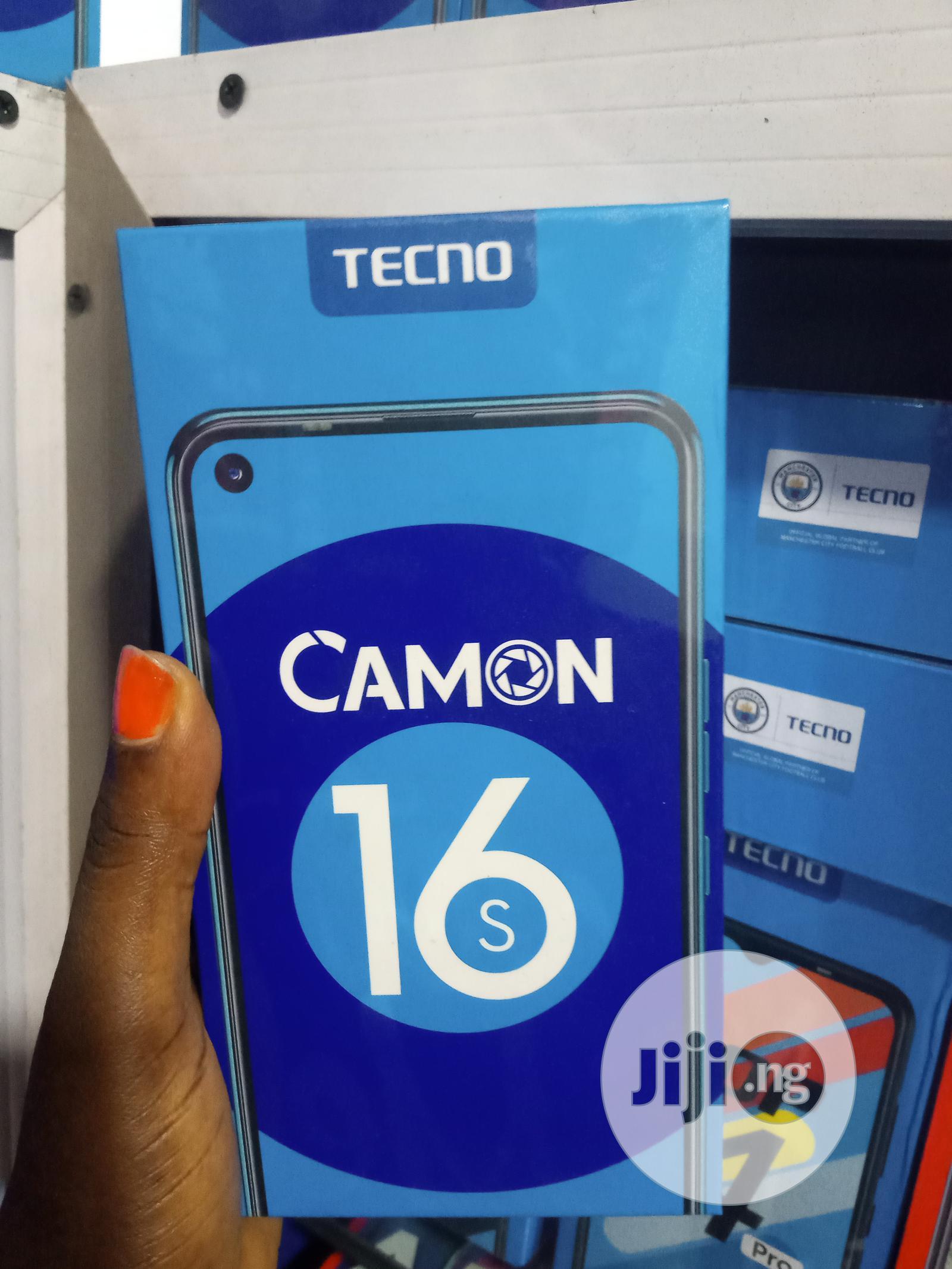 New Tecno Camon 16S 128 GB
