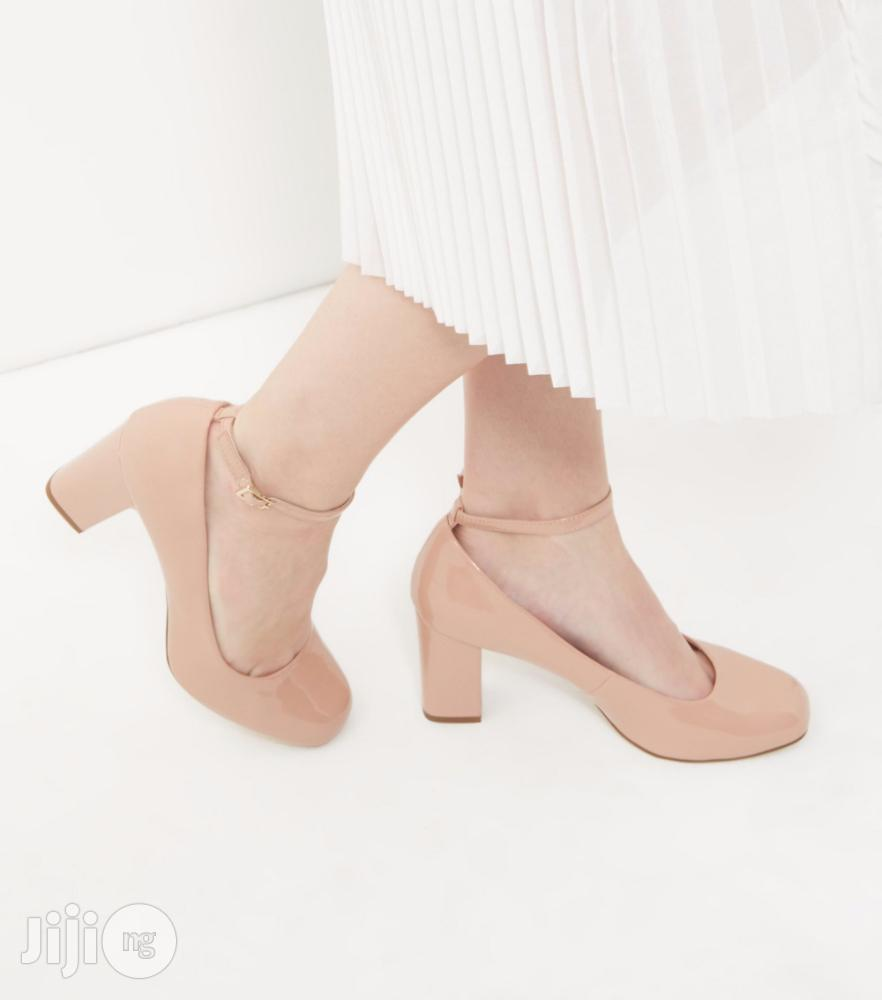 New Look Wide Fit NUDE Comfort Mary