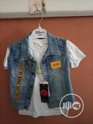 Boy Jean Jacket, Polo and Trouser   Children's Clothing for sale in Bayelsa State, Yenagoa