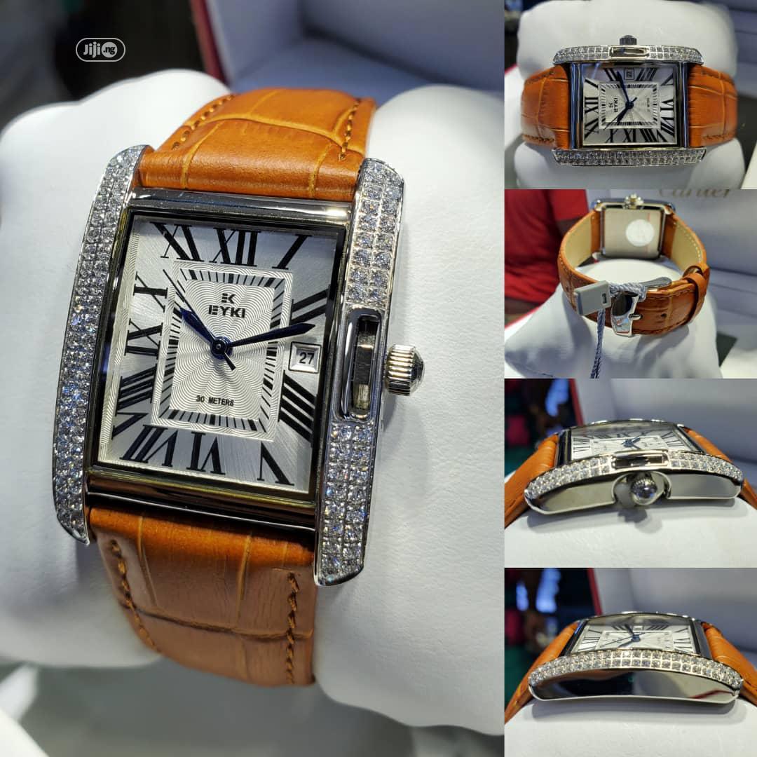 Quality Leather Wrist Watch