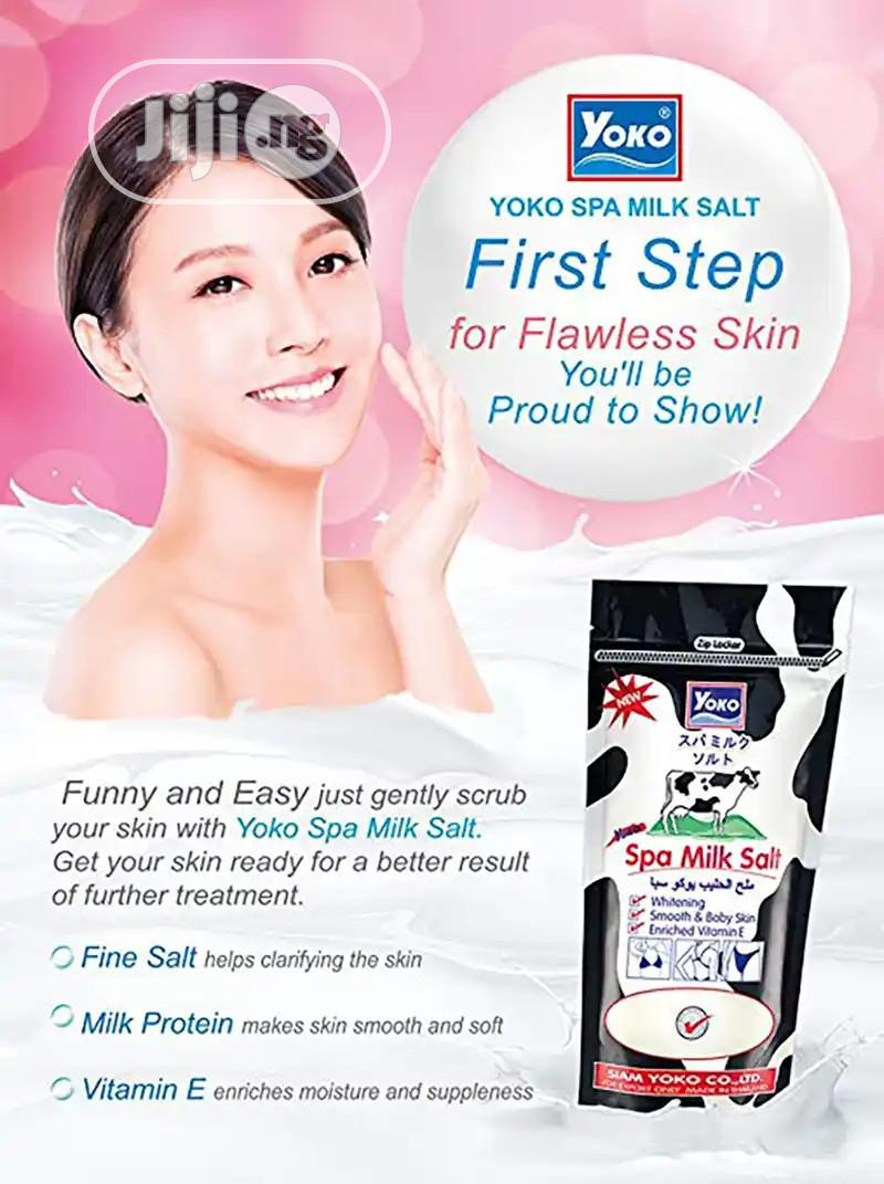 Yoko Spa Milk Salt | Skin Care for sale in Amuwo-Odofin, Lagos State, Nigeria