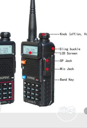 2pcs Baofeng UV-5R Walkie-Talkie Radio | Audio & Music Equipment for sale in Lagos State, Ojo