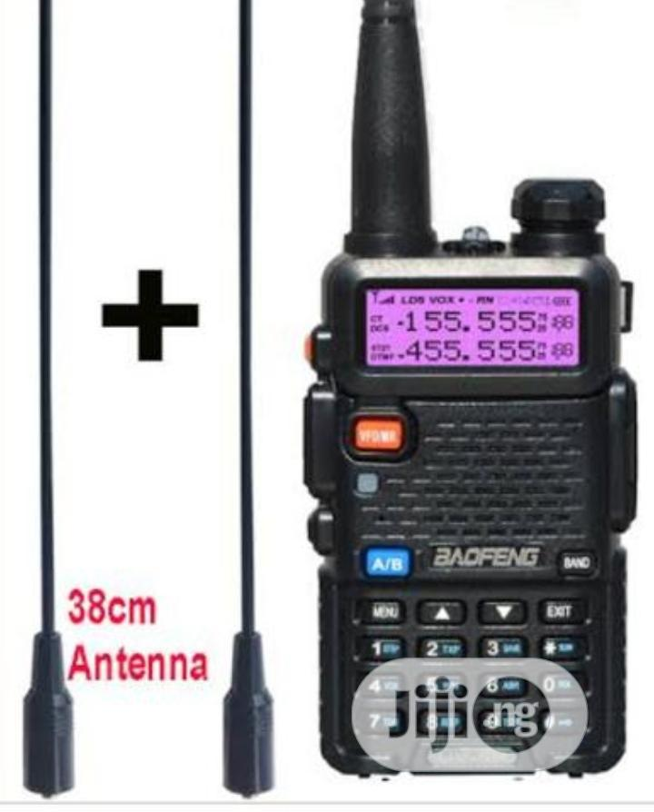 2pcs Baofeng UV-5R Walkie-Talkie Radio | Audio & Music Equipment for sale in Ojo, Lagos State, Nigeria