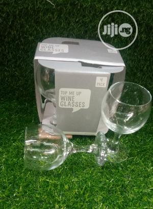 4 Set Wine Glass | Kitchen & Dining for sale in Lagos State, Lagos Island (Eko)
