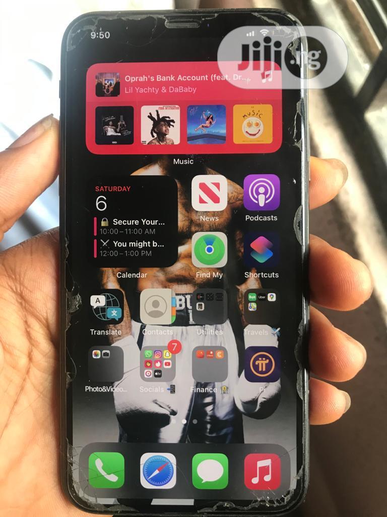 Apple iPhone X 256 GB Black   Mobile Phones for sale in Amuwo-Odofin, Lagos State, Nigeria