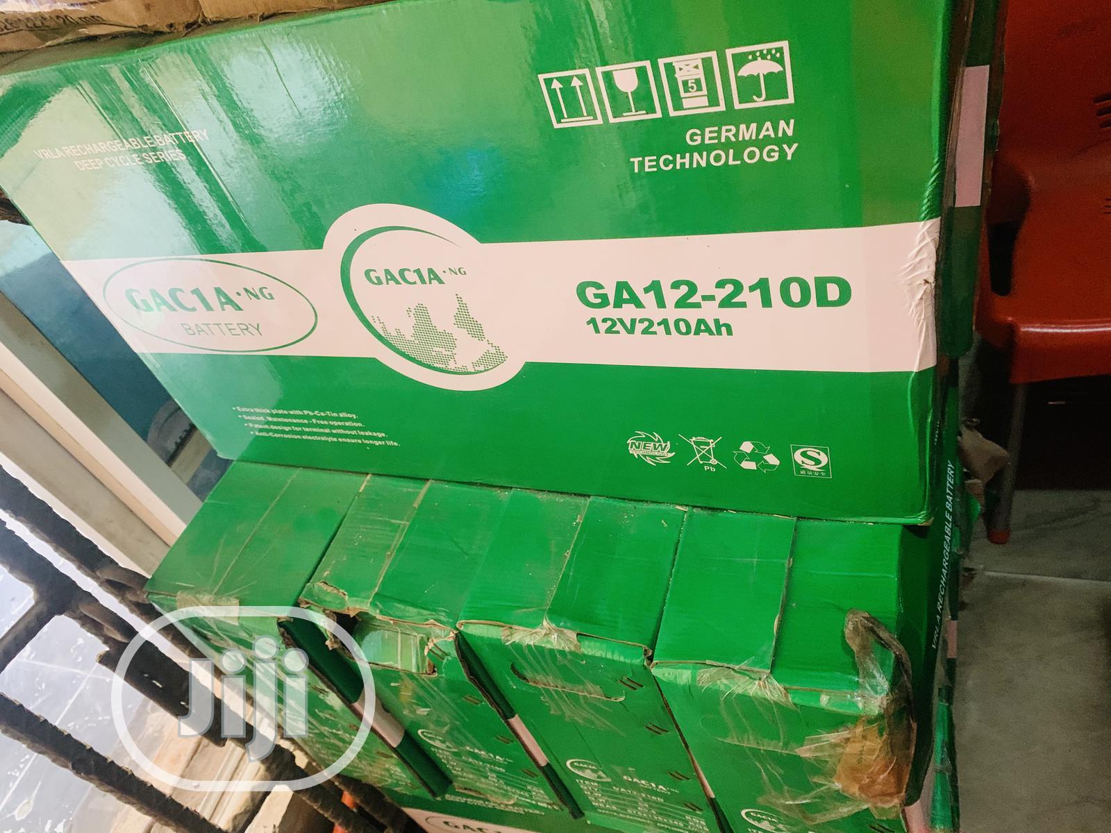 210ah 12v Gacia Solar Slim Battery 2yrs Warranty