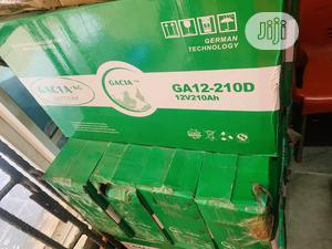 210ah 12v Gacia Solar Slim Battery 2yrs Warranty   Solar Energy for sale in Lagos State, Ikoyi