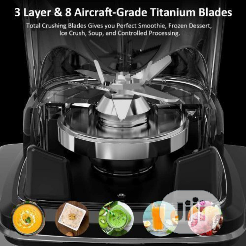 Silver Crest 3000 Watts Bottle Beans Industrial Blender | Kitchen Appliances for sale in Ikeja, Lagos State, Nigeria
